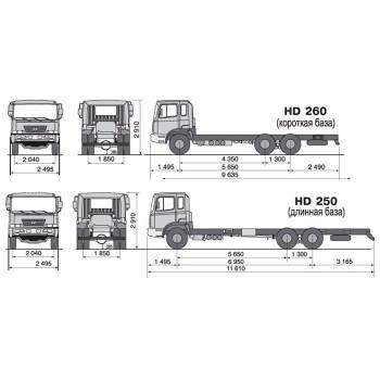 Hyundai HD 250 - 260