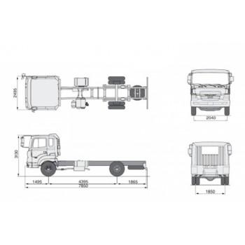 Hyundai HD 170 рефрижератор