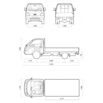 Hyundai Porter 2 бортовой