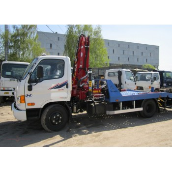Эвакуатор Hyundai HD 78 (с КМУ)