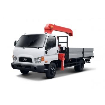 Крано-манипуляторная установка Hyundai HD 78